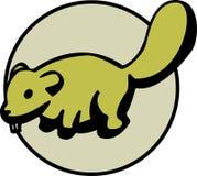 可用的小海狸格式向量 图库摄影