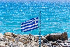 可用的标志玻璃希腊样式向量 图库摄影