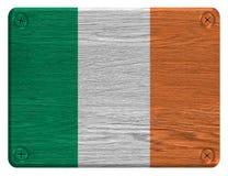 可用的标志玻璃爱尔兰样式向量 库存照片