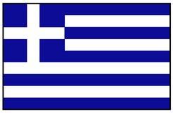 可用的标志玻璃希腊样式向量 免版税库存照片