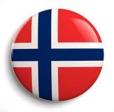 可用的标志玻璃挪威样式向量 免版税库存图片