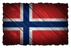 可用的标志玻璃挪威样式向量 图库摄影