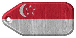 可用的标志玻璃新加坡样式向量 免版税图库摄影