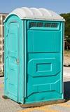 可移植的洗手间 免版税库存照片