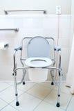 可移植的洗手间 库存图片