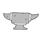 可笑的动画片铁匠铁砧 皇族释放例证