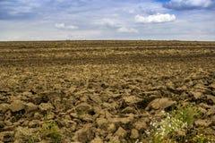 可耕的领域农场 图库摄影