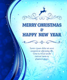 可能拟订圣诞节朋友招呼节假日选项写道对愿望的晚上 图库摄影