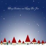 可能拟订圣诞节朋友招呼节假日选项写道对愿望的晚上 库存照片