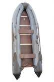 可膨胀的小船的图象 库存照片
