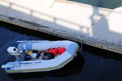 可膨胀的小船,佛罗里达 免版税图库摄影