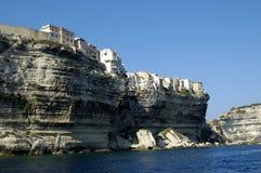 可西嘉岛法国横向 图库摄影