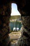 可西嘉岛法国横向 免版税库存照片