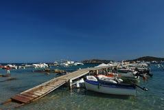 可西嘉岛海岛 库存照片