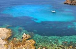 可西嘉岛海岛 库存图片