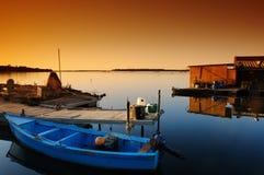 可西嘉岛湖 免版税库存照片