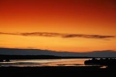 可西嘉岛湖 库存图片