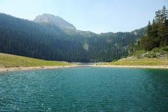可西嘉岛科西嘉岛creno de法国LAC湖山山 图库摄影