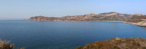 可西嘉岛,狂放的风景,盖帽Corse,欧特Corse,上部Corse,法国,欧洲 图库摄影