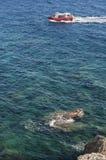 可西嘉岛, Bonifacio, Bonifacio,海滩,地中海,石灰石,峭壁,岩石, Bouches de Bonifacio海峡  库存照片