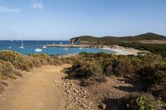 可西嘉岛, Corse,盖帽Corse,上部Corse,法国,欧洲,海岛 免版税图库摄影