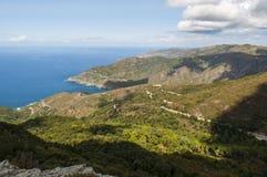 可西嘉岛, Corse,盖帽Corse,上部Corse,法国,欧洲,海岛 免版税库存图片
