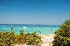 可西嘉岛-秀丽小岛,法国 免版税库存图片