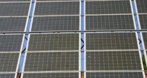 可选择能源太阳电池板特写镜头  股票视频