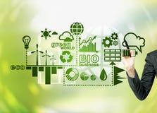 可选择能源,干净的环境 免版税库存图片