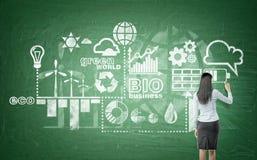 可选择能源,干净的环境 免版税图库摄影