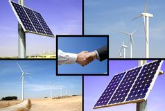 可选择能源 免版税库存照片