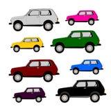可通过的汽车 免版税库存图片