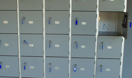 可锁定的内阁 库存例证