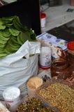 可食的蒋酱之叶叶子 图库摄影