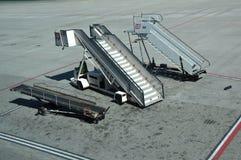 可移动的舷梯 免版税库存照片