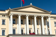 17可以奥斯陆挪威皇家关闭  免版税库存照片