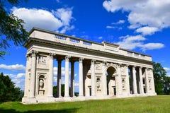 可以找到Reistna柱廊大约在Valtice东南部的2 km 免版税库存照片