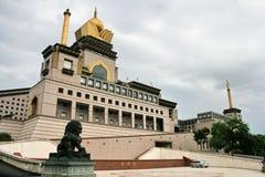 台中寺庙在台湾 库存照片