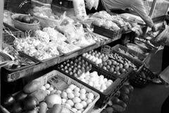 台中Huamei黄昏市场 图库摄影