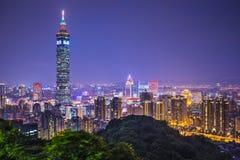 台北台湾 库存照片