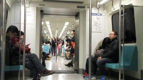 台北地铁支架 HD 股票视频