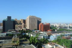 台北城市分界线 免版税库存图片