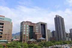 台北大厦 免版税库存图片
