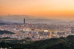 台北市,台湾 免版税库存图片