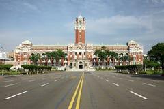 台北总统大厦没人 库存图片