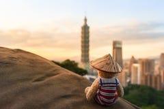台北旅行冒险乡情 库存照片