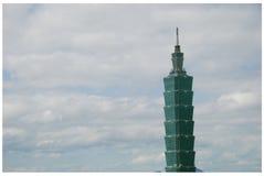 101台北顶层 图库摄影