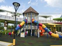 台北,台北儿童的游乐园 免版税库存图片