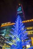 台北,台湾圣诞灯 库存图片