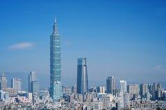 台北,台湾- 2018年1月16日:台北是台湾一个首都 库存照片